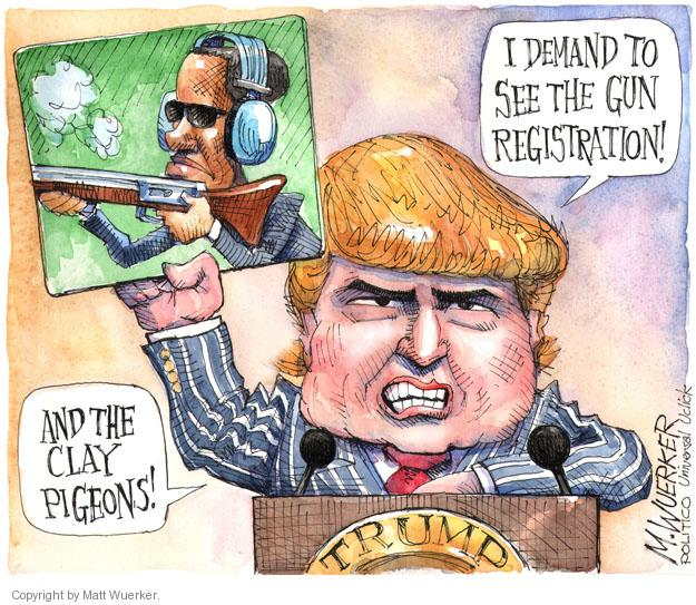 Cartoonist Matt Wuerker  Matt Wuerker's Editorial Cartoons 2013-02-05 president