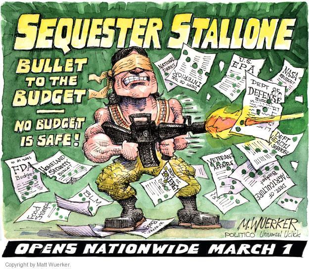 Cartoonist Matt Wuerker  Matt Wuerker's Editorial Cartoons 2013-02-06 Bureau of Land Management