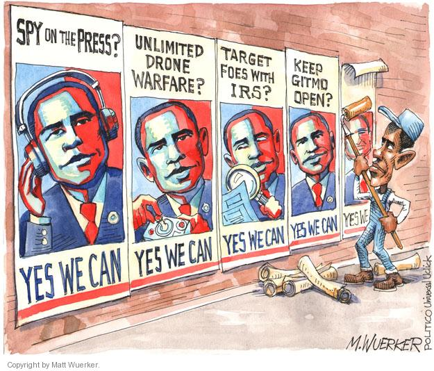 Matt Wuerker  Matt Wuerker's Editorial Cartoons 2013-05-20 freedom of the press