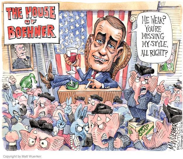 Matt Wuerker  Matt Wuerker's Editorial Cartoons 2013-05-29 political party