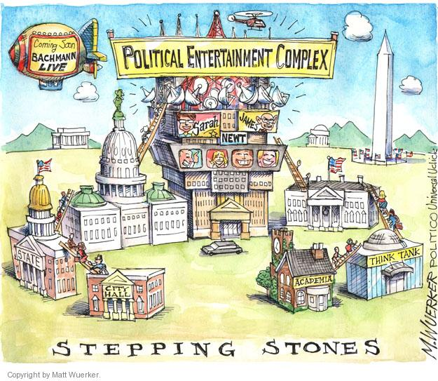Cartoonist Matt Wuerker  Matt Wuerker's Editorial Cartoons 2013-06-03 television news