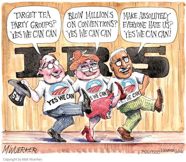 Matt Wuerker  Matt Wuerker's Editorial Cartoons 2013-06-07 tax audit