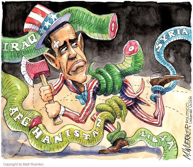Cartoonist Matt Wuerker  Matt Wuerker's Editorial Cartoons 2013-06-17 conflict