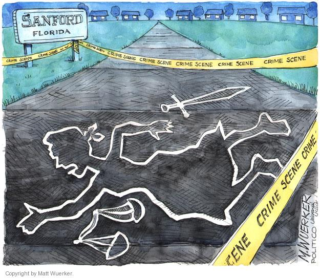 Matt Wuerker  Matt Wuerker's Editorial Cartoons 2013-07-15 trial
