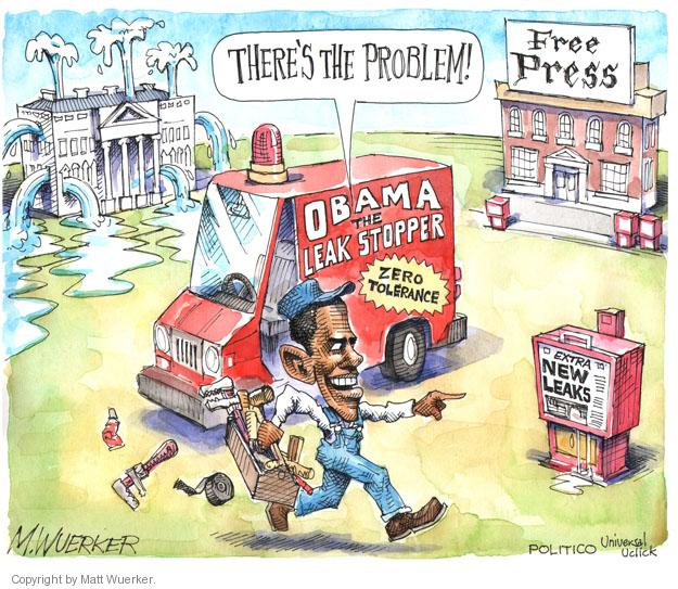 Matt Wuerker  Matt Wuerker's Editorial Cartoons 2013-09-23 freedom of the press