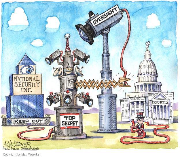 Cartoonist Matt Wuerker  Matt Wuerker's Editorial Cartoons 2013-09-25 security