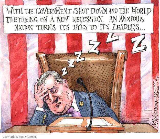 Matt Wuerker  Matt Wuerker's Editorial Cartoons 2013-10-07 government shutdown