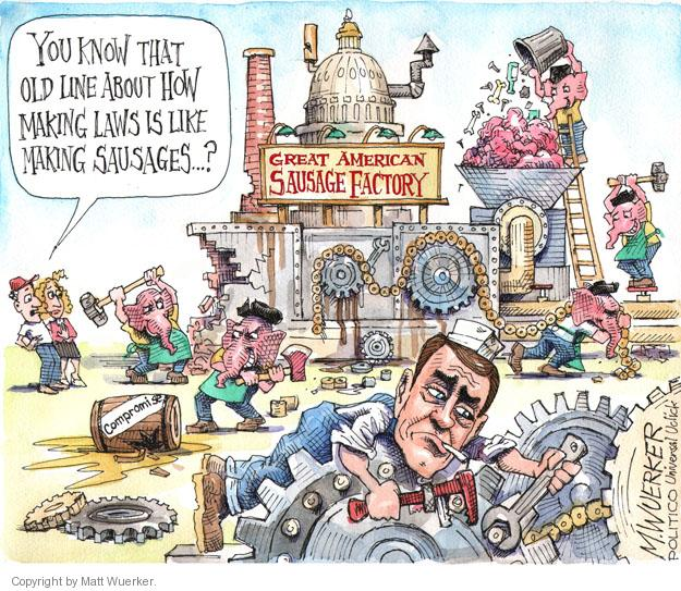 Matt Wuerker  Matt Wuerker's Editorial Cartoons 2013-10-21 house