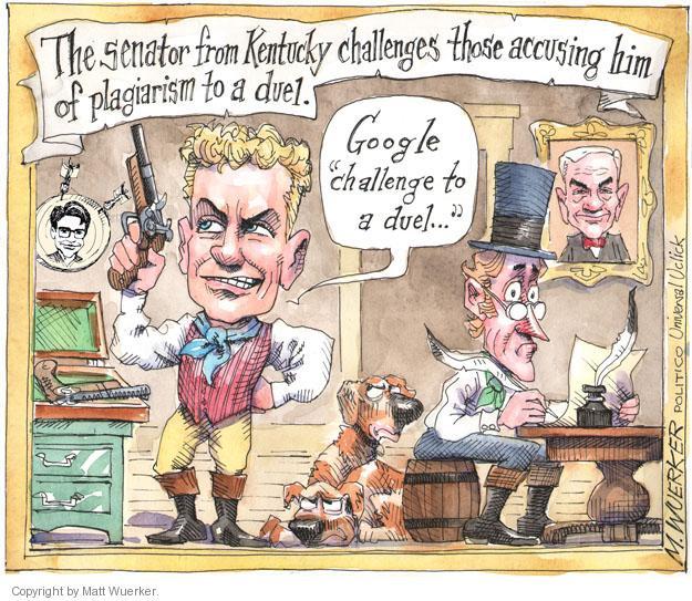 Cartoonist Matt Wuerker  Matt Wuerker's Editorial Cartoons 2013-11-06 television