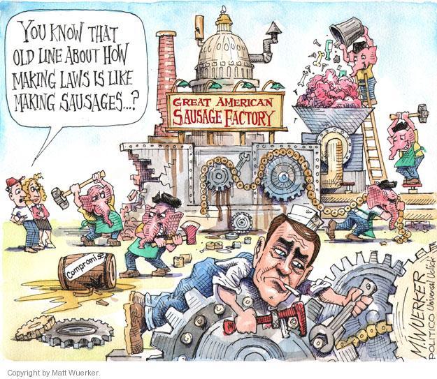 Matt Wuerker  Matt Wuerker's Editorial Cartoons 2013-11-21 political party