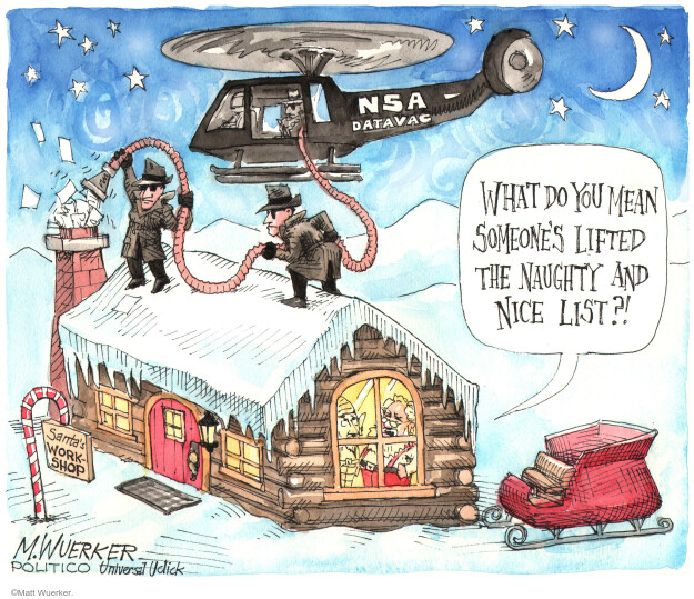 Cartoonist Matt Wuerker  Matt Wuerker's Editorial Cartoons 2013-12-17 government