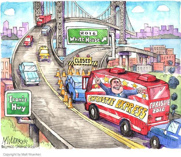 Cartoonist Matt Wuerker  Matt Wuerker's Editorial Cartoons 2014-01-10 payback