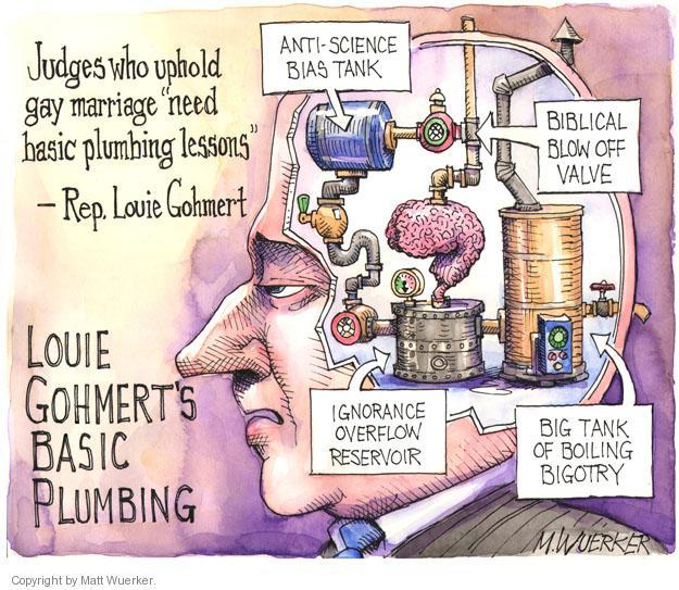 Matt Wuerker  Matt Wuerker's Editorial Cartoons 2014-01-17 bigotry