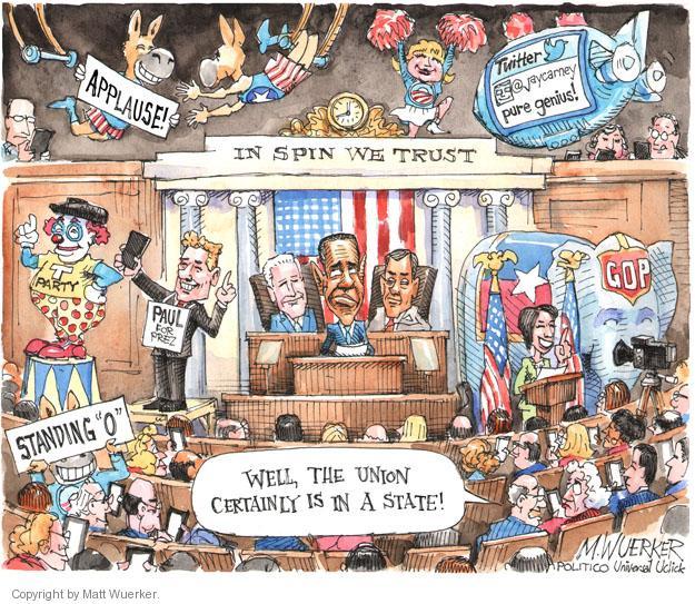 Cartoonist Matt Wuerker  Matt Wuerker's Editorial Cartoons 2014-01-28 president