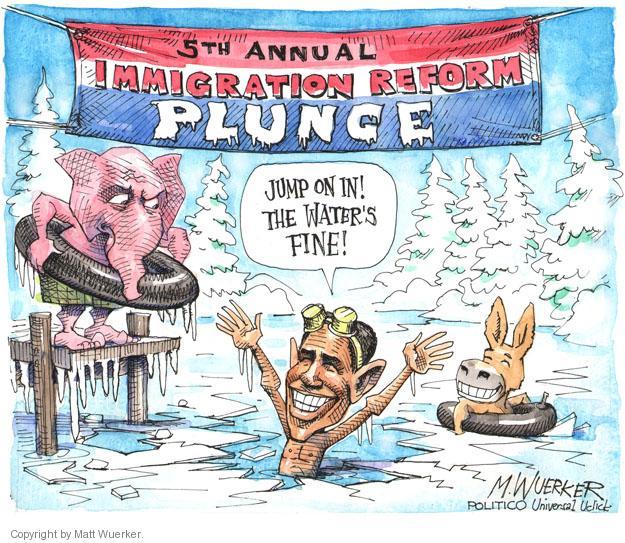 Matt Wuerker  Matt Wuerker's Editorial Cartoons 2014-02-04 immigration bill
