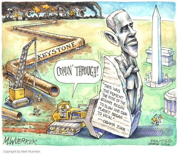 Cartoonist Matt Wuerker  Matt Wuerker's Editorial Cartoons 2014-02-19 environment destruction