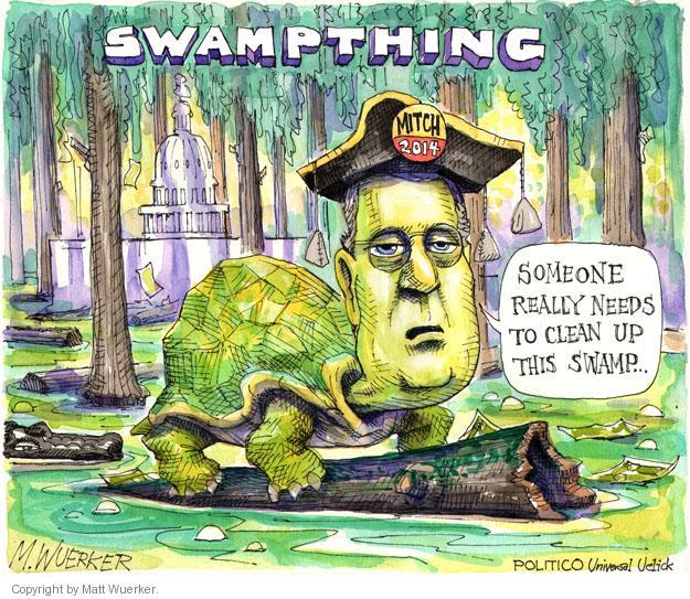 Cartoonist Matt Wuerker  Matt Wuerker's Editorial Cartoons 2014-02-25 senatorial