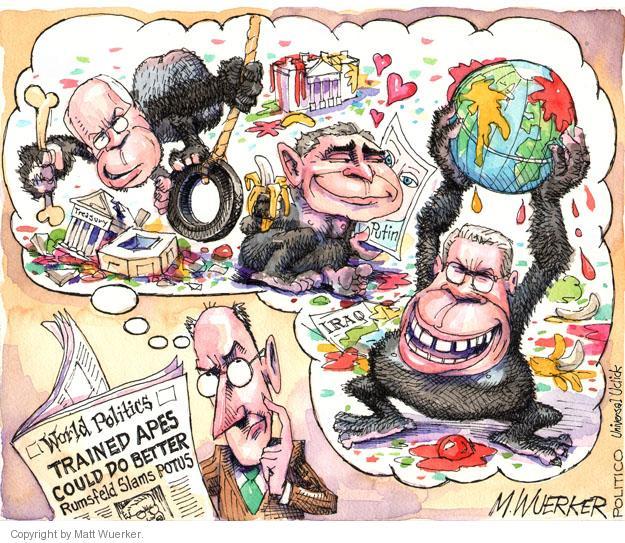 Cartoonist Matt Wuerker  Matt Wuerker's Editorial Cartoons 2014-03-26 Vladimir Putin
