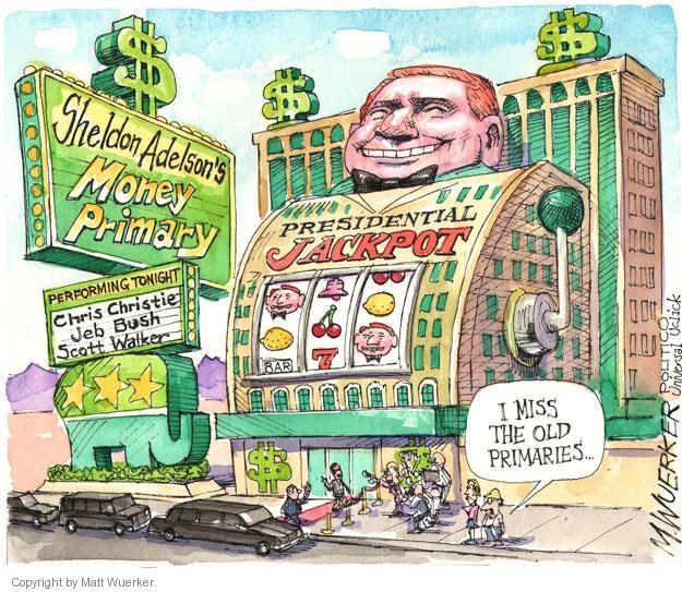 Cartoonist Matt Wuerker  Matt Wuerker's Editorial Cartoons 2014-03-31 Scott