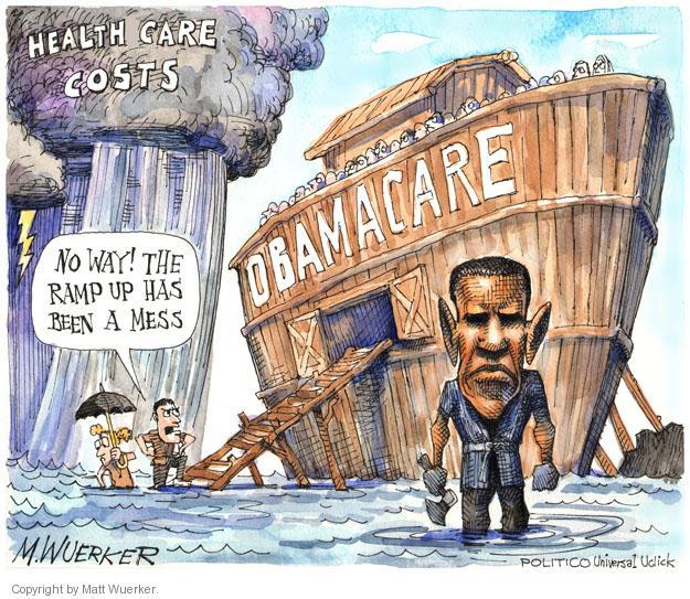 Matt Wuerker  Matt Wuerker's Editorial Cartoons 2014-04-01 Obamacare