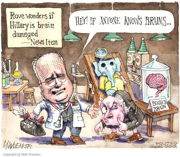 Cartoonist Matt Wuerker  Matt Wuerker's Editorial Cartoons 2014-05-14 George W. Bush