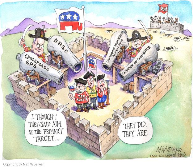 Cartoonist Matt Wuerker  Matt Wuerker's Editorial Cartoons 2014-05-21 tea party