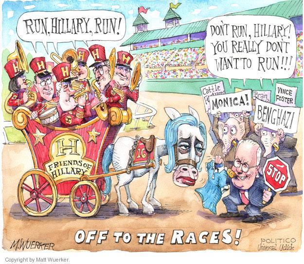 Cartoonist Matt Wuerker  Matt Wuerker's Editorial Cartoons 2014-05-28 race