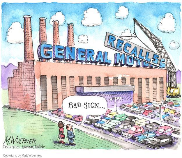 Cartoonist Matt Wuerker  Matt Wuerker's Editorial Cartoons 2014-07-16 automobile safety