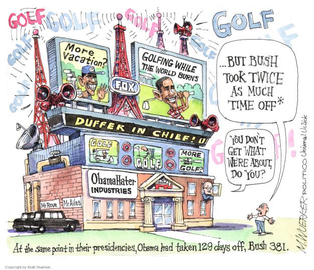Matt Wuerker  Matt Wuerker's Editorial Cartoons 2014-08-22 Bush administration
