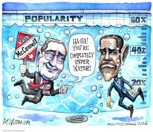 Cartoonist Matt Wuerker  Matt Wuerker's Editorial Cartoons 2014-09-03 Barack Obama approval rating