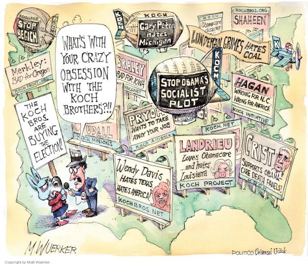Matt Wuerker  Matt Wuerker's Editorial Cartoons 2014-10-03 2014 Obamacare