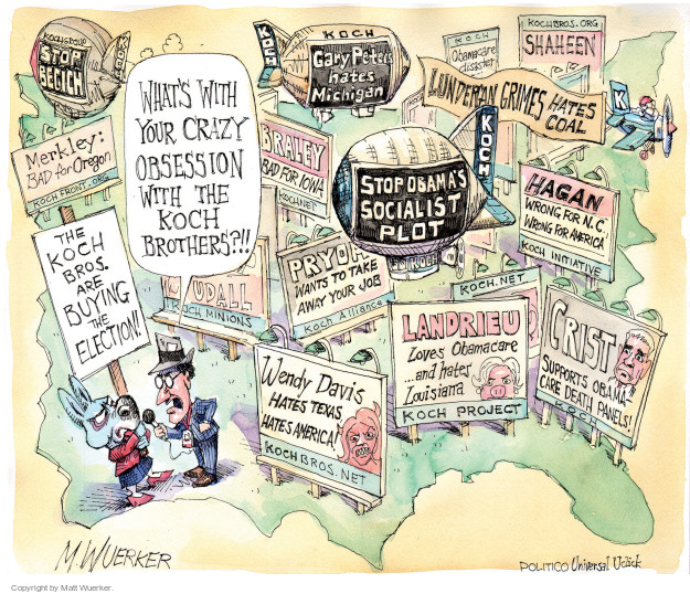 Matt Wuerker  Matt Wuerker's Editorial Cartoons 2014-10-03 love