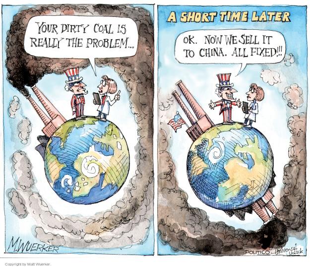 Cartoonist Matt Wuerker  Matt Wuerker's Editorial Cartoons 2014-10-07 United States