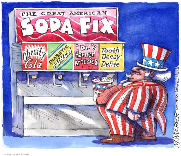 Cartoonist Matt Wuerker  Matt Wuerker's Editorial Cartoons 2014-10-15 obesity