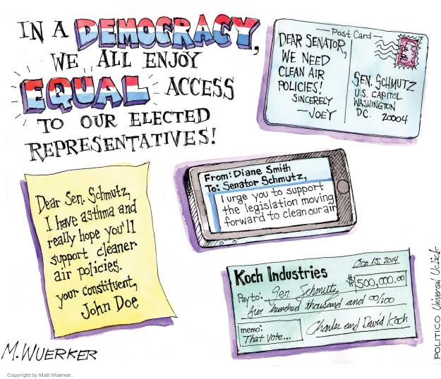 Matt Wuerker  Matt Wuerker's Editorial Cartoons 2014-10-16 payment