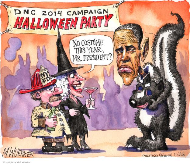Matt Wuerker  Matt Wuerker's Editorial Cartoons 2014-10-21 Halloween