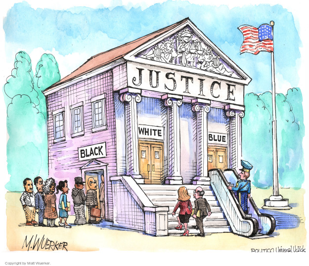 Cartoonist Matt Wuerker  Matt Wuerker's Editorial Cartoons 2014-11-27 justice