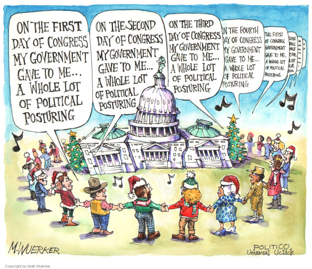 Cartoonist Matt Wuerker  Matt Wuerker's Editorial Cartoons 2014-12-01 government