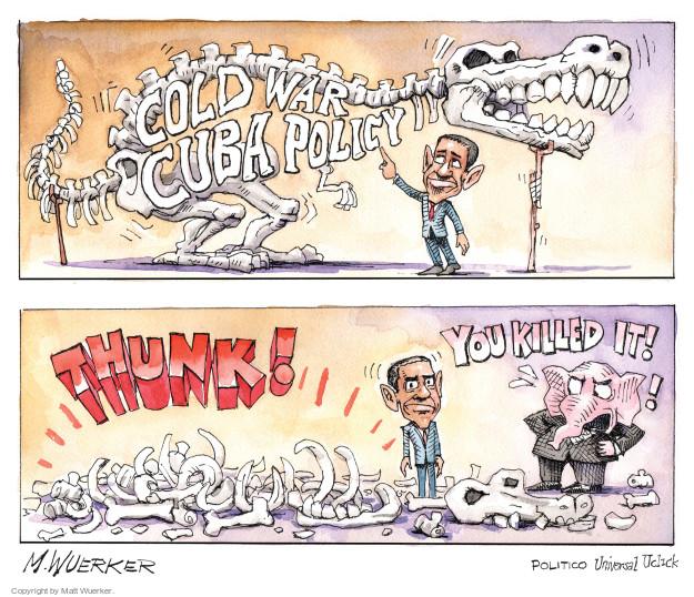 Cartoonist Matt Wuerker  Matt Wuerker's Editorial Cartoons 2014-12-22 president