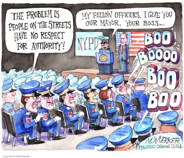 Matt Wuerker  Matt Wuerker's Editorial Cartoons 2014-12-30 respect