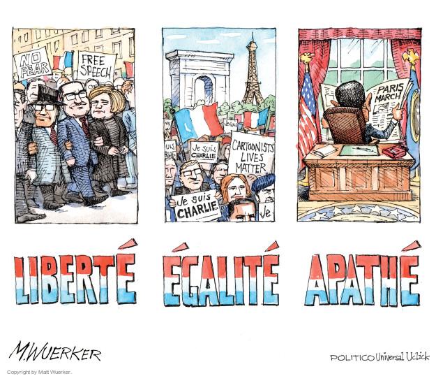 Matt Wuerker  Matt Wuerker's Editorial Cartoons 2015-01-13 press freedom