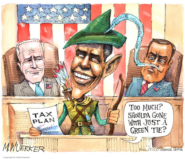 Cartoonist Matt Wuerker  Matt Wuerker's Editorial Cartoons 2015-01-20 tax