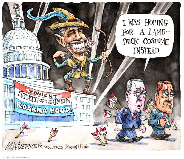 Cartoonist Matt Wuerker  Matt Wuerker's Editorial Cartoons 2015-01-22 president