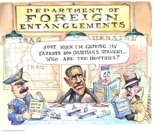 Cartoonist Matt Wuerker  Matt Wuerker's Editorial Cartoons 2015-02-26 Yemen