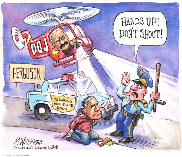 Cartoonist Matt Wuerker  Matt Wuerker's Editorial Cartoons 2015-03-07 Justice Department