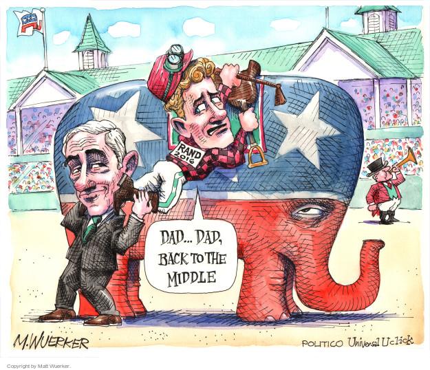 Matt Wuerker  Matt Wuerker's Editorial Cartoons 2015-04-07 position