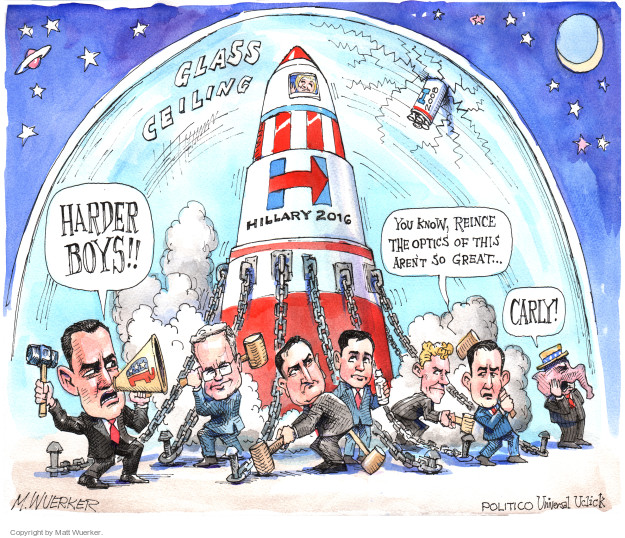 Cartoonist Matt Wuerker  Matt Wuerker's Editorial Cartoons 2015-04-14 hold