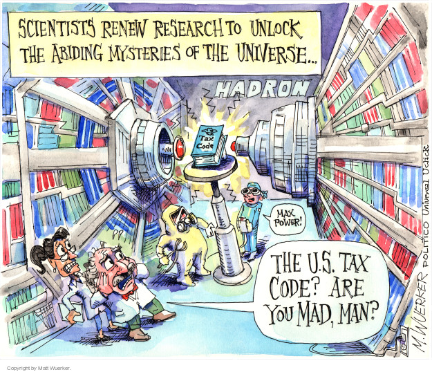 Cartoonist Matt Wuerker  Matt Wuerker's Editorial Cartoons 2015-04-15 tax