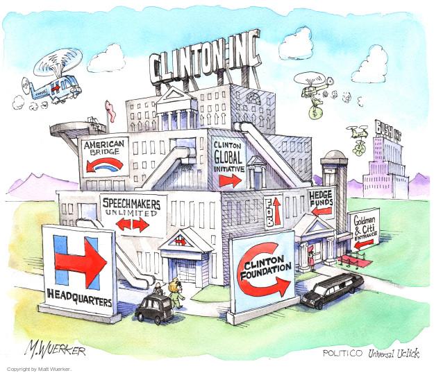 Cartoonist Matt Wuerker  Matt Wuerker's Editorial Cartoons 2015-04-23 Secretary of State