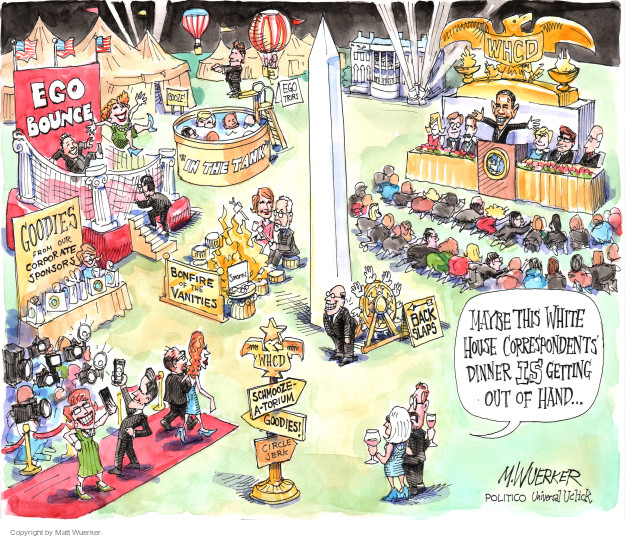 Cartoonist Matt Wuerker  Matt Wuerker's Editorial Cartoons 2015-04-27 excess